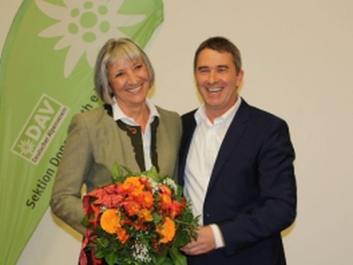 Besuch von Susanne Pflügler vom ÖAV Teufelstein aus Perchtoldsdorf