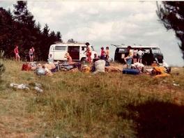 Jugend Zeltlager bei Fronhausen 1973_1