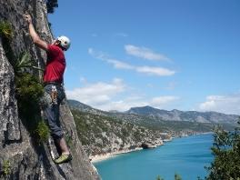 Klettern in Cala Luna, Sardinien - 2009_1