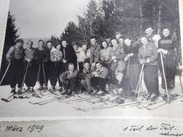 Skiabteilung 1949_1