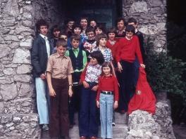 Treffen mit der AV-Jugend ÖAV Teufelstein am Dachstein 1980_1