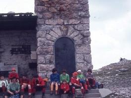 Treffen mit der AV-Jugend ÖAV Teufelstein am Dachstein 1980_2