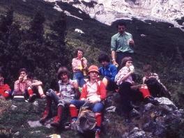 Treffen mit der AV-Jugend ÖAV Teufelstein am Dachstein 1980_3