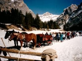 Skifahrt Südtirol Lagazoui - 2004_1