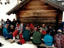 Brotzeit am Campolongopaß - 1998_1
