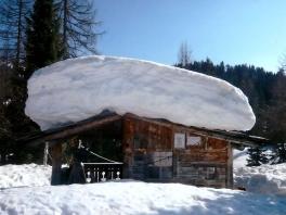 Viel Schnee in Südtirol - 2014_1