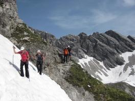 Bergtouren Allgäuer Alpen 2015